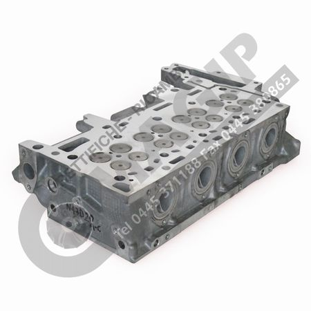 REBUILT CYLINDER HEAD WITH VALVES AND SPRINGS (NO CAMSHAFT)